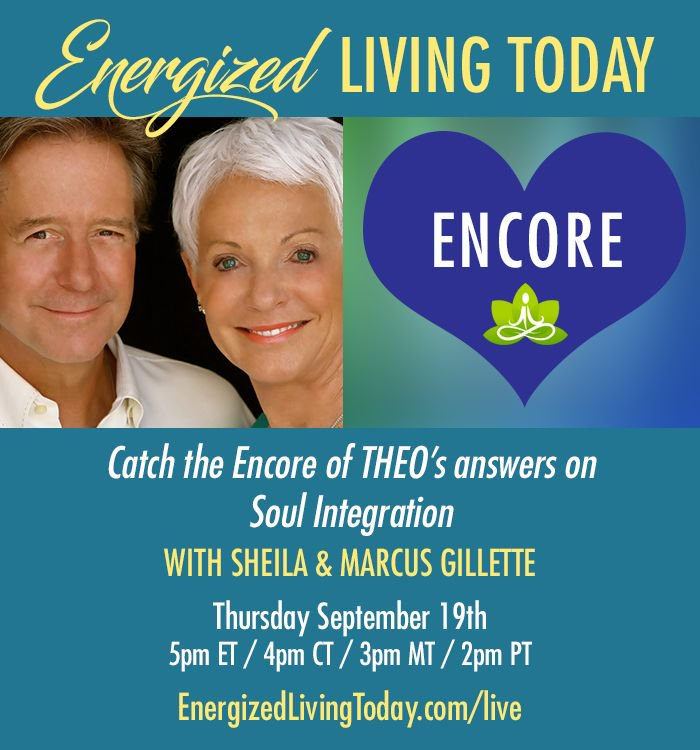 Catch the Encore of THEO's answers aboutSoul Integration. Today at 5pm ET / 4pm CT / 3pm MT / 2pm PT https://buff.ly/2fyzfkYpic.twitter.com/0Yr3dnQUxH