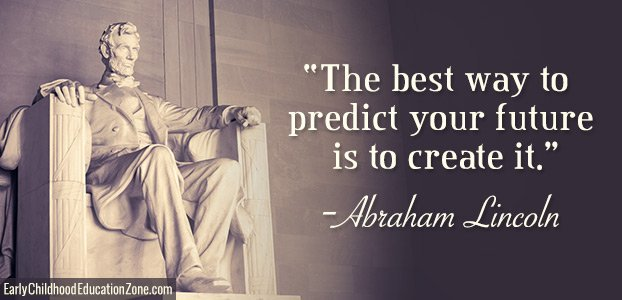 The best way to predict your future is to create it.  -Abraham Lincoln #TuesdayThoughts #TuesdayMotivation <br>http://pic.twitter.com/lgTD1wNoJN