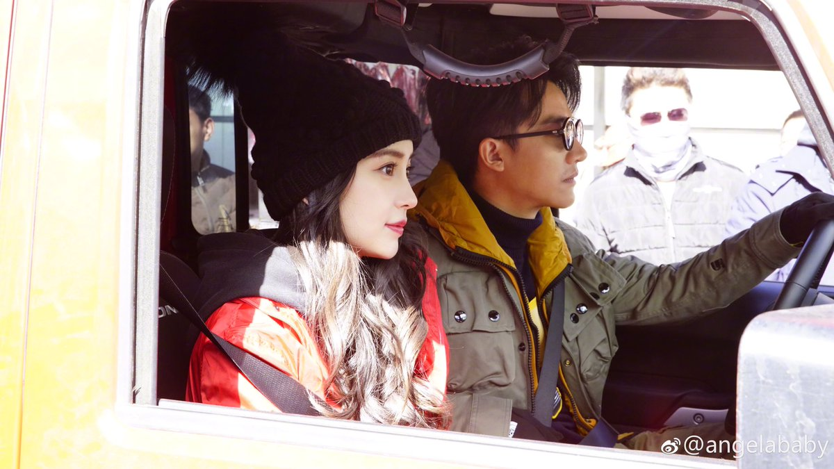 #Angelababy finished filming... #HuangXuan https://t.co/Ae2P7wm5S8