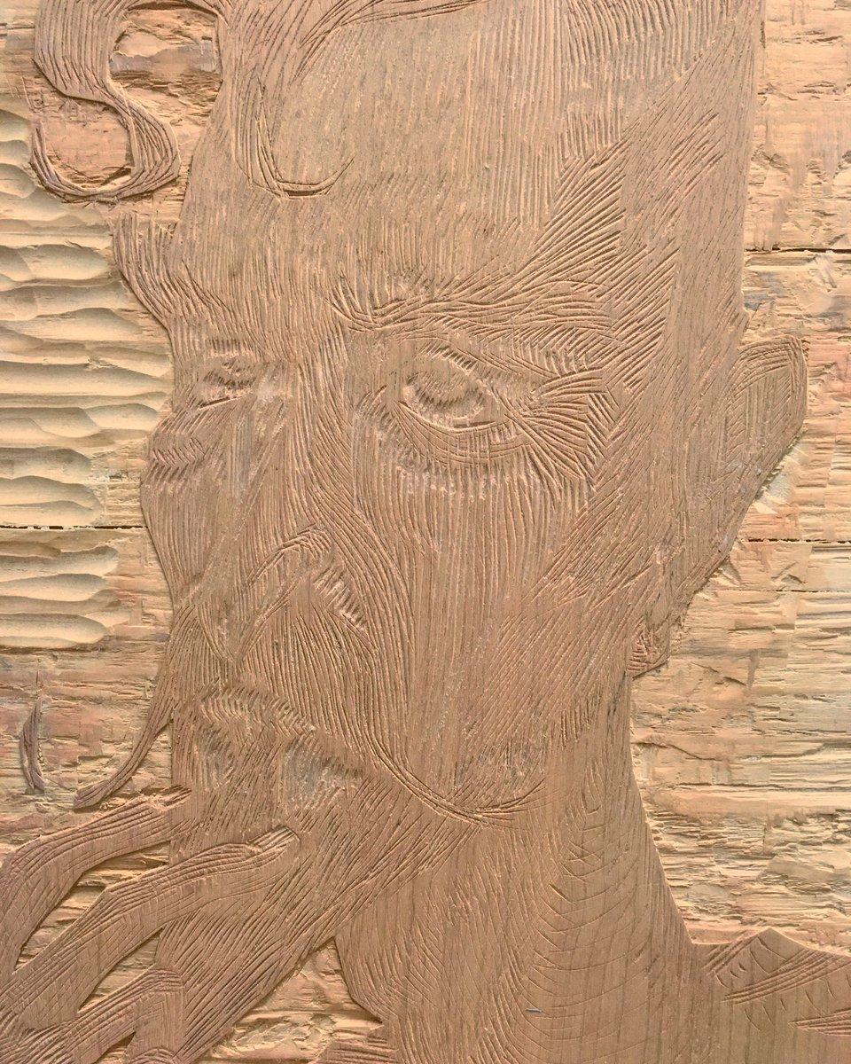 Old Don Q woodblock #donquixote #woodworking #woodblock #handcarving #manoflamancha #pensive #texture #wood #print #printmaking<br>http://pic.twitter.com/aQfbQ2FHJV