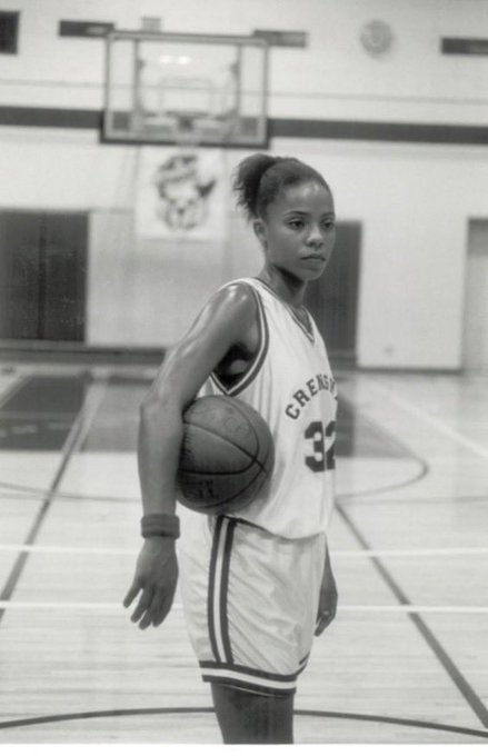 I should be crying but I just can\t let it show Happy birthday to Sanaa Lathan!