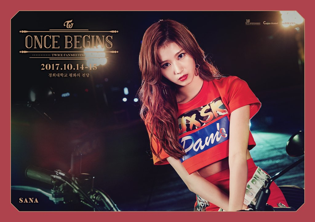 ONCE BEGINS SANA  2017.10.14-15  #ONCE #원스 #TWICE #트와이스 #SANA #사나 #ONCEBEGINS https://t.co/ml69Bouuih