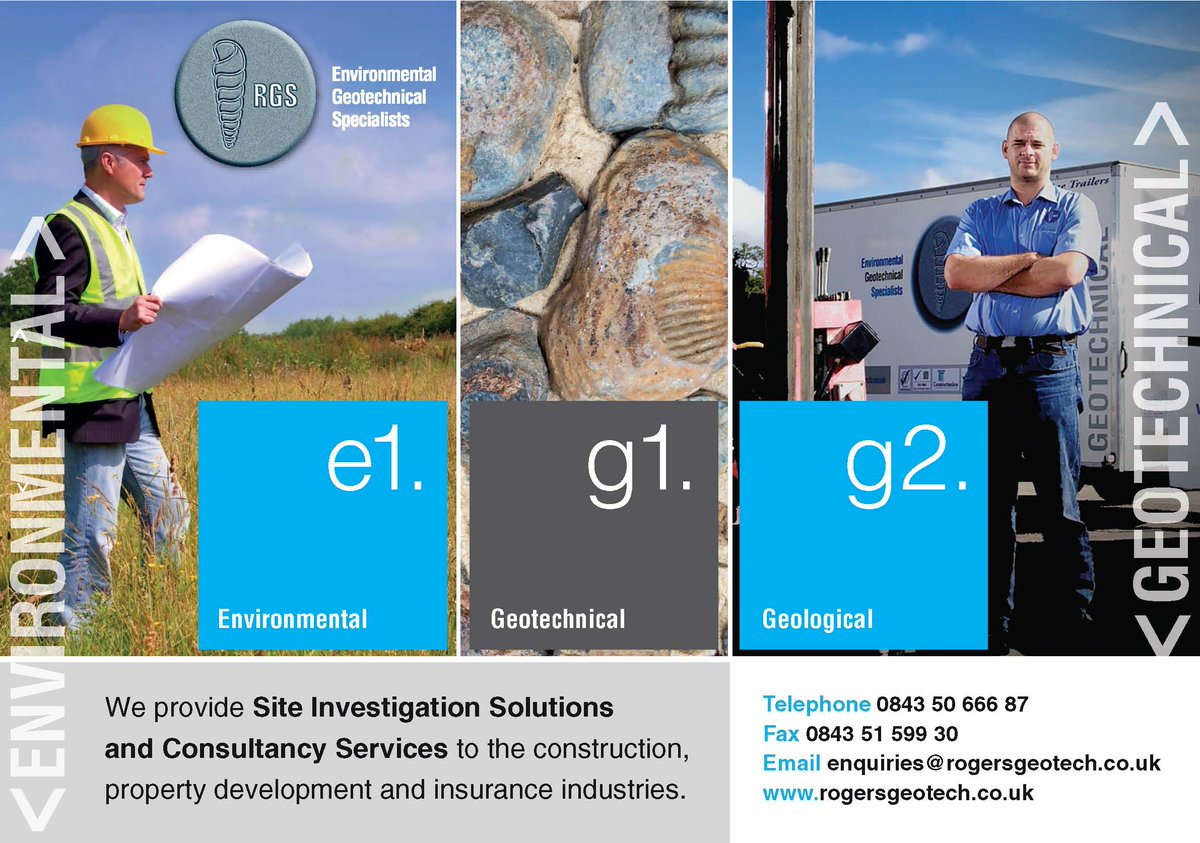 For all your site investigation &amp; geo-environmental needs.  Please contact us to see how we can help  http://www. rogersgeotech.co.uk  &nbsp;   #TheTradesHub <br>http://pic.twitter.com/x9Y4sEmoJ0