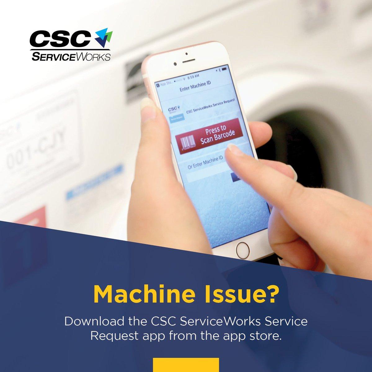 CSC ServiceWorks on Twitter: