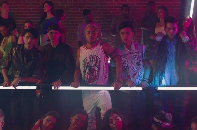 """See @LittleMix and @CNCOmusic's music video for the """"Reggaeton Lento\"""