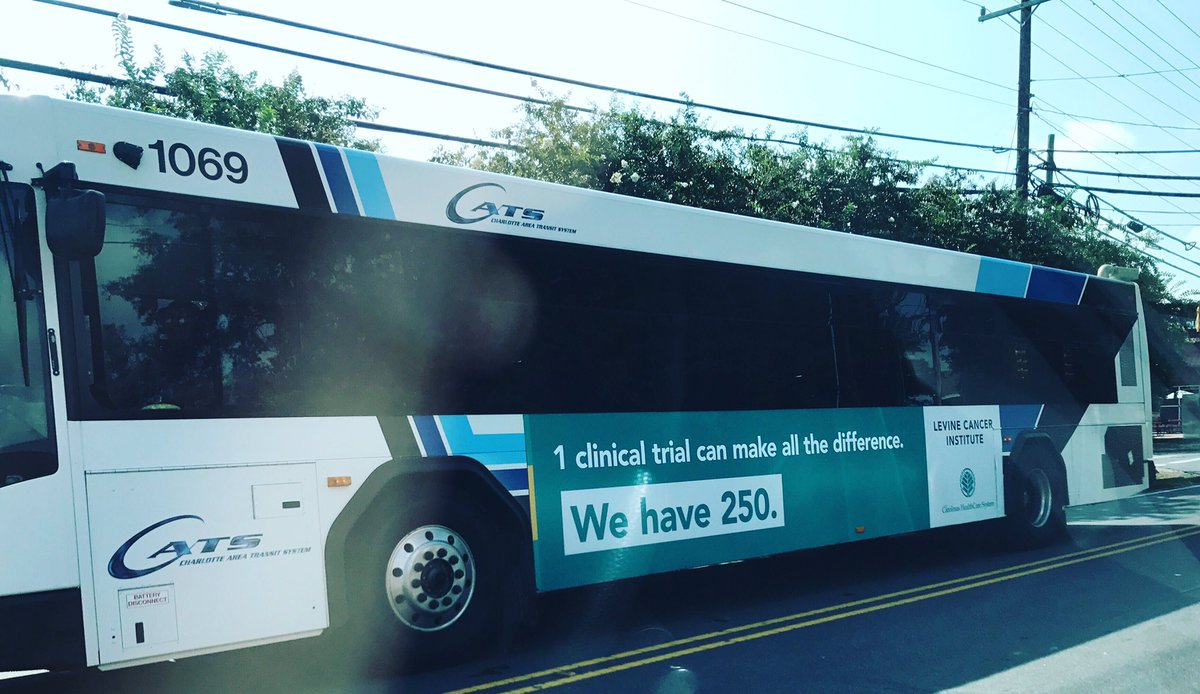 Spotted #lci @carolinas #chsproud #cancer #clinicaltrials #charlotte<br>http://pic.twitter.com/WCEBi69ncn