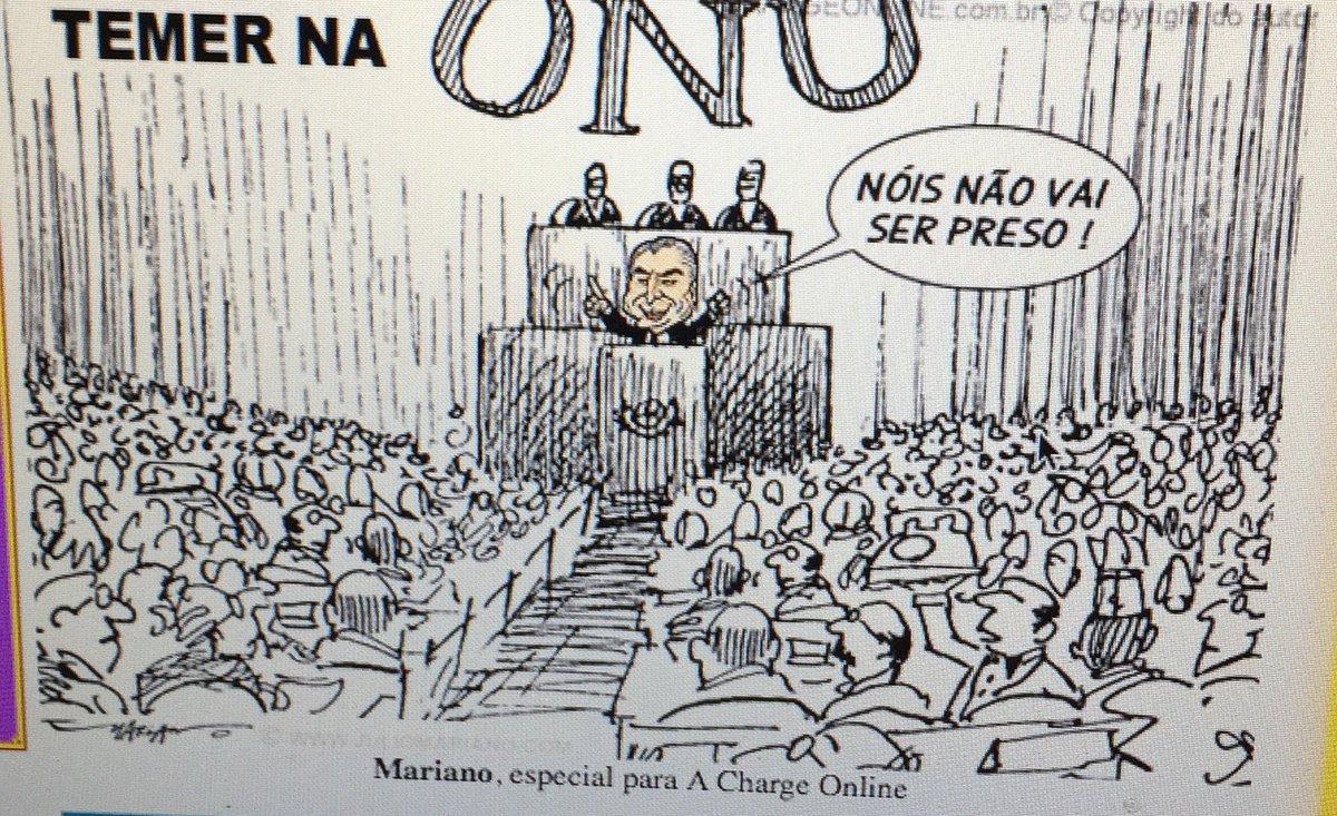 Discurso de Temer na ONU!