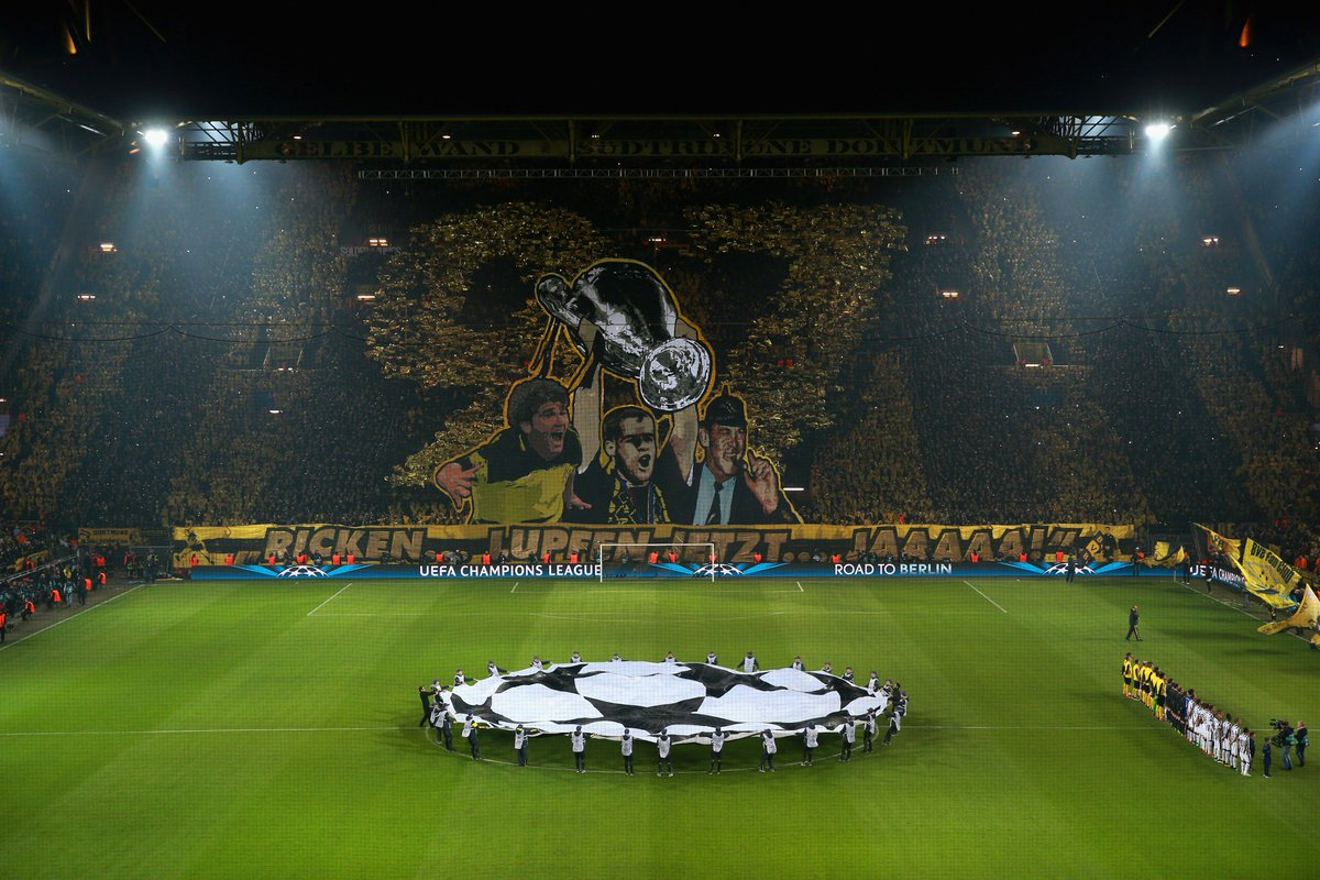 Dortmund have never lost at home to Real Madrid (W3 D3).   Who are you backing next week? #UCL <br>http://pic.twitter.com/69Js8kNRDD
