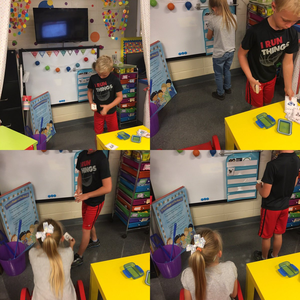 Be the teacher station, where Ss practice by imitating the Ts @TCBOE_LES #LeadingTheWay <br>http://pic.twitter.com/ltU75waXQv