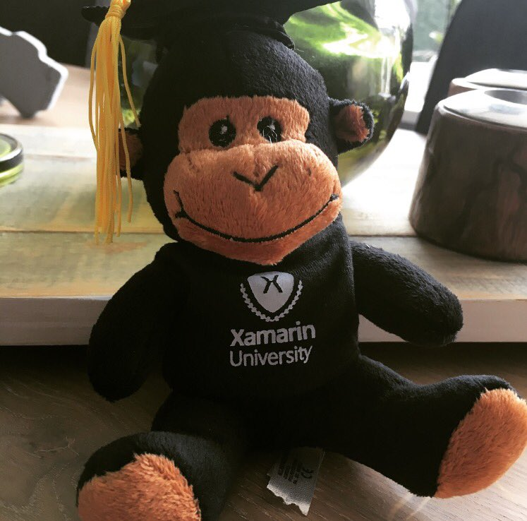 Look at who came in the mail after a long journey! #recertified - Next target: #MVP #workingonit #xamarin<br>http://pic.twitter.com/iQUz2CHPJp