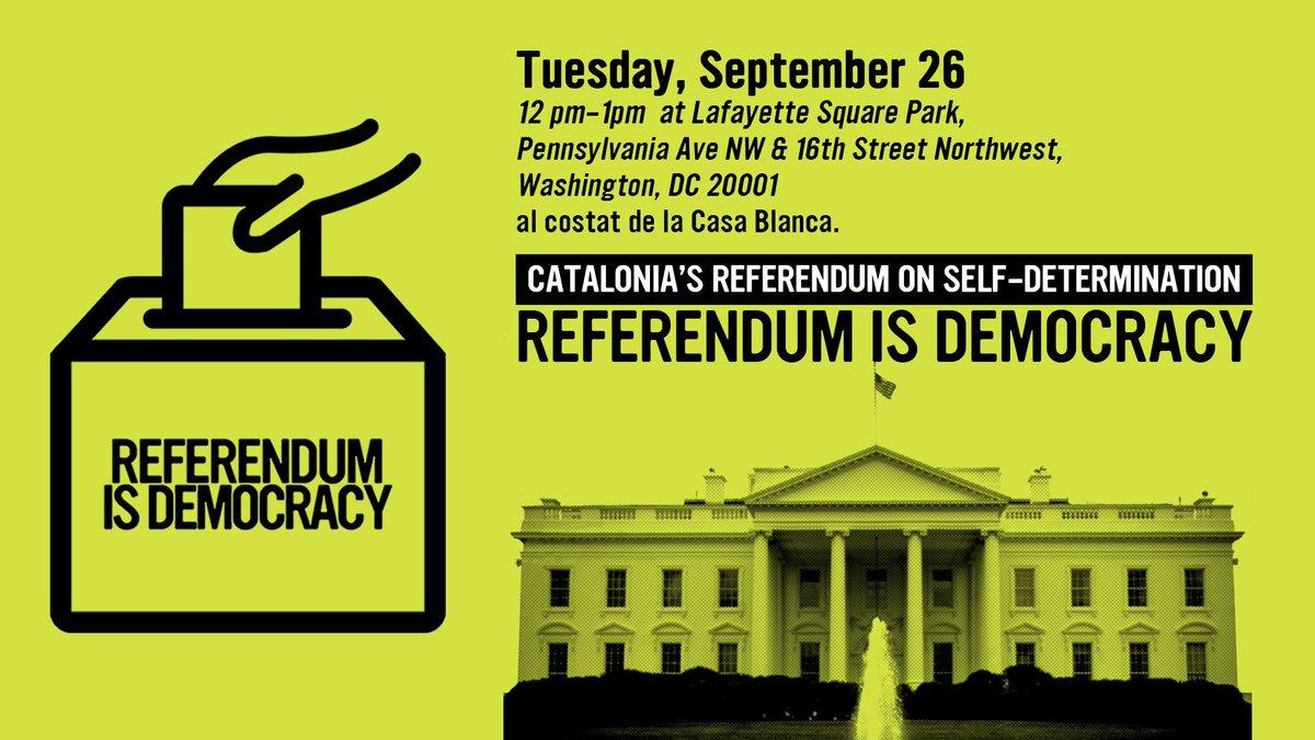 referendumisdemocracy hashtag on Twitter