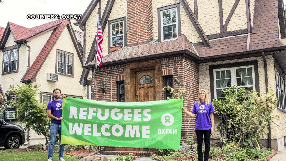 Trump's Childhood Home is Now an @Airbnb Where Refugees Slept Over to Protest Immigration Crackdown https://t.co/XXW5DMDWpv