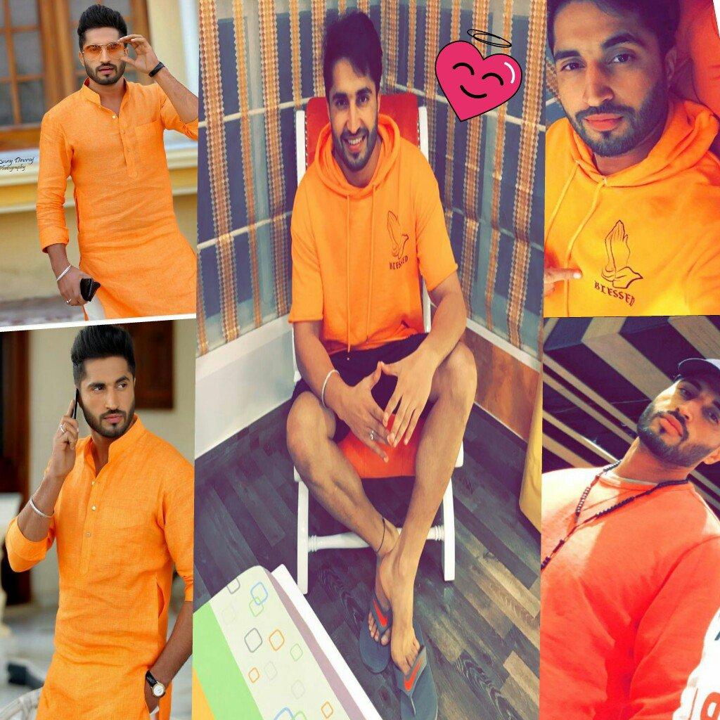 Hey.. @jassi1gill  #PicOfTheDay #Orange #Cute How many #retweets for our #Rockstar? Mr. gill hun ik #reply taan bnda aa..#waiting hopefully<br>http://pic.twitter.com/DXkNHgcmoI