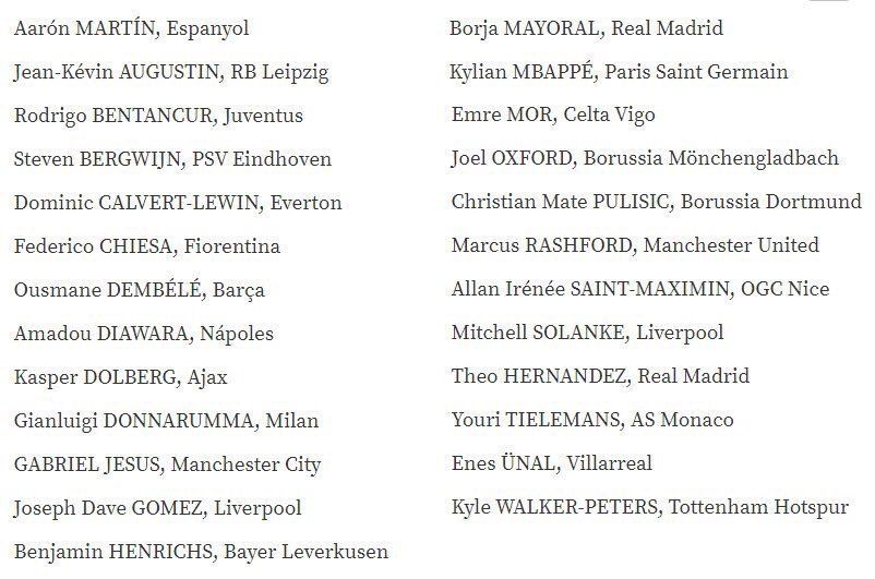 Who gets your shout for the #UEFA Golden Boy?  The nominations have now been announced. <br>http://pic.twitter.com/u8tDpaJvXF