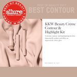 Thank you so much Allure! So honored to have won best Contour of 2017 #KKWBEAUTY