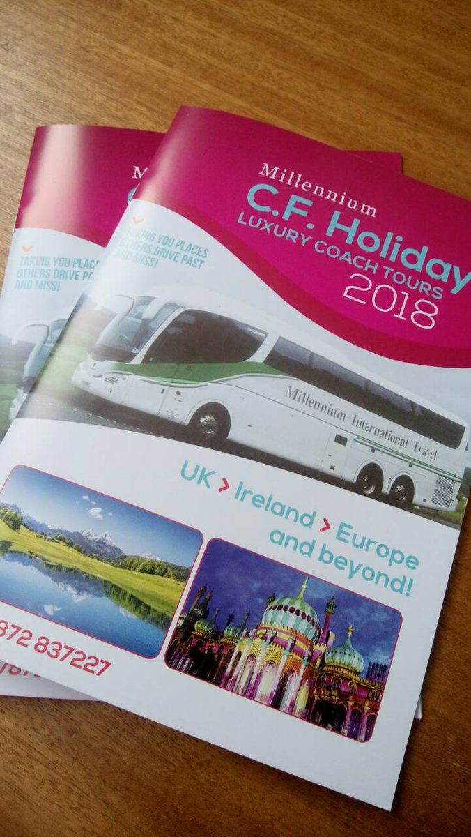 A5 colour brochures designed &amp; printed on site here at Gortreagh for CF Holidays. #design #print #deliver #branding #brochures #onestopshop<br>http://pic.twitter.com/yXvm8jPUwy