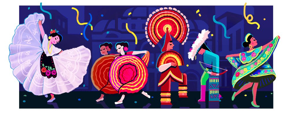 A birthday #GoogleDoodle for Amalia Hernandez, Mexican choreographer and founder of the renowned Ballet Folklorico → https://t.co/4I1xfDfxvN