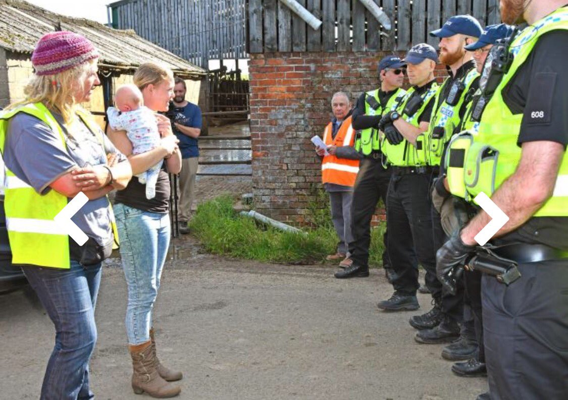 Local residents protecting their children&#39;s health &amp; futures at #KirbyMisperton this morning - #wesaidNO #fracking in #Yorkshire! <br>http://pic.twitter.com/F2KNwawQ3k