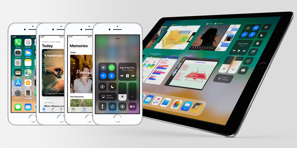 Apple releases iOS 11 for iPhone and iPad, here's all the new features https://t.co/G1q7b31H65