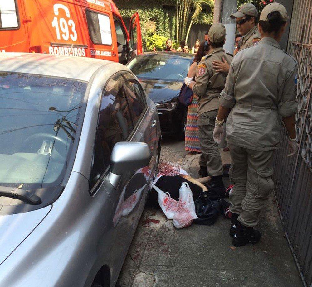 Mulher morre esfaqueada em tentativa de assalto em Niterói https://t.co/MsHDYyA9ah #G1Rio