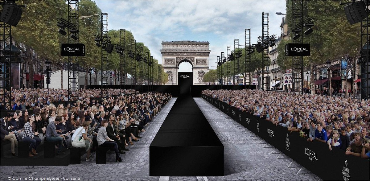 Save the date! To celebrate #CarFree day in Paris, #ChampsElysees Avenue is having a giant fashion show (60-meter catwalk!) Oct1 3pm Free <br>http://pic.twitter.com/pbQ0Fb8hCq