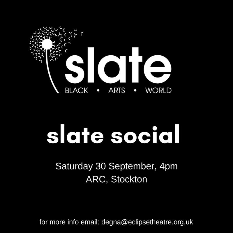 The next #Slate Social is on Sat 30 Sept at 4pm @arcstockton. If you&#39;re an artist of colour working in the #NorthEast, come down and say Hi!<br>http://pic.twitter.com/QxPakAMQ2V