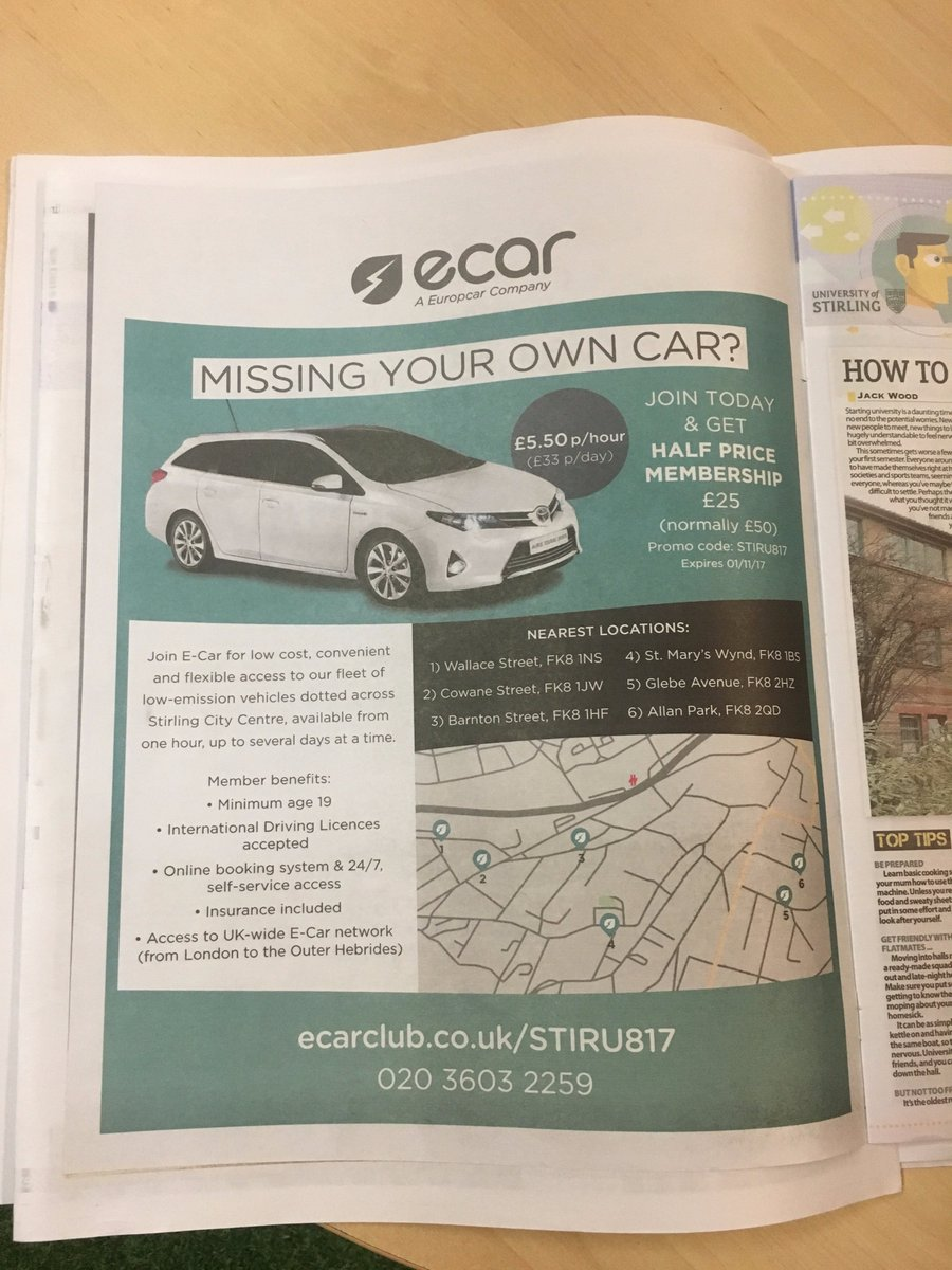 E Car Club On Twitter Any Stiruni Students Miss Our Ad In