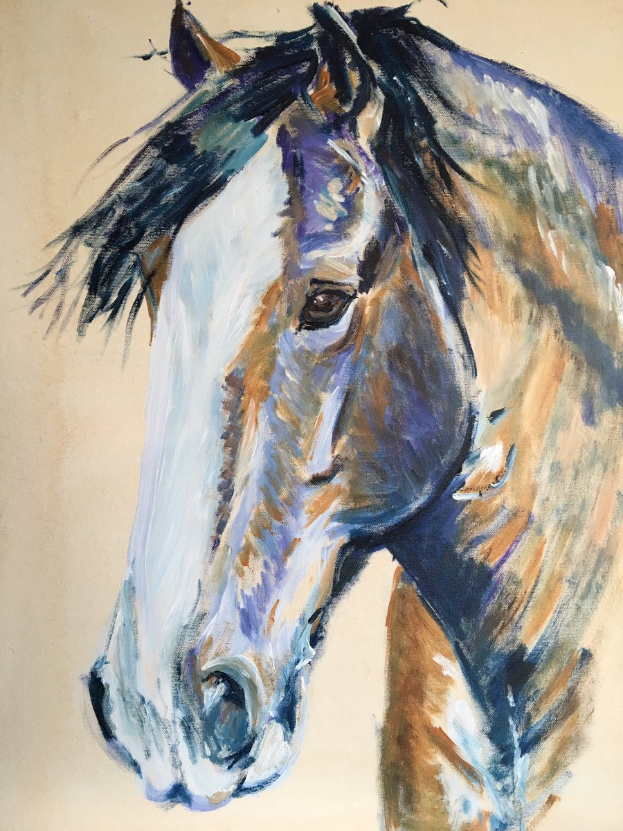 &quot;The Big Fella&quot; is coming along - a Shire horse #horsehour #shirehorse #Horses #artnews #ArtisticTuesday #horseart #EquineHour #equine <br>http://pic.twitter.com/IQNp7vyoGM