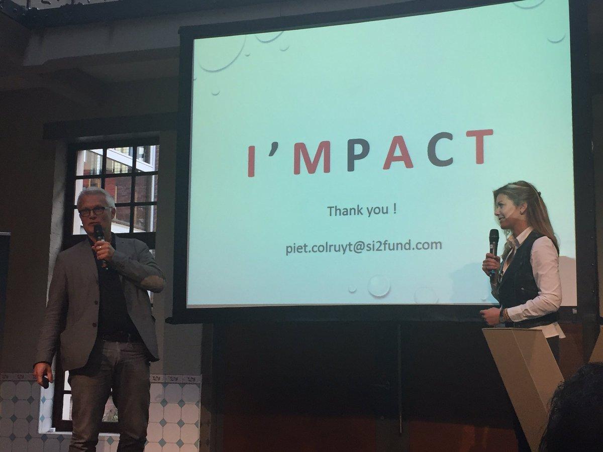 Inspiring speech from Piet Colruyt about the #impact of #SocialEntrepreneurship. #si2funds #chivasventure #wintherightway<br>http://pic.twitter.com/GshzBo7V1K