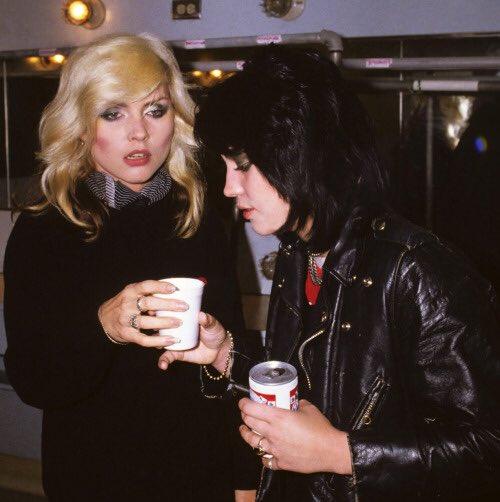 Happy birthday to my blondie! Joan Jett misses you!