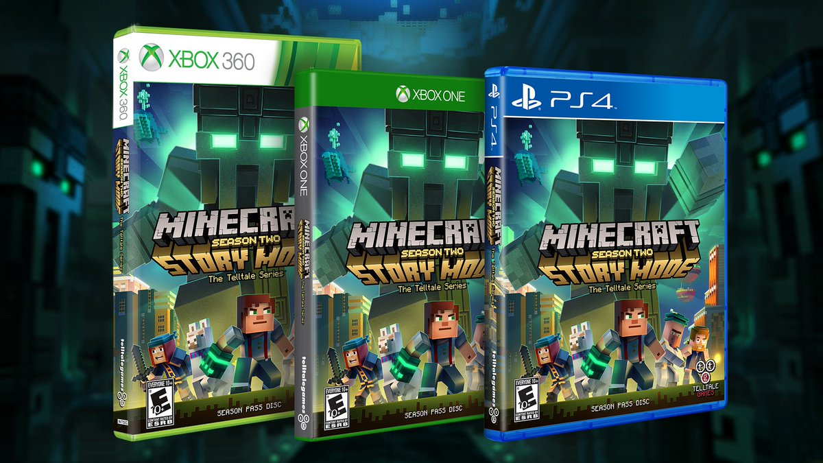 Telltale Games On Twitter Minecraft Storymode Season Two Is
