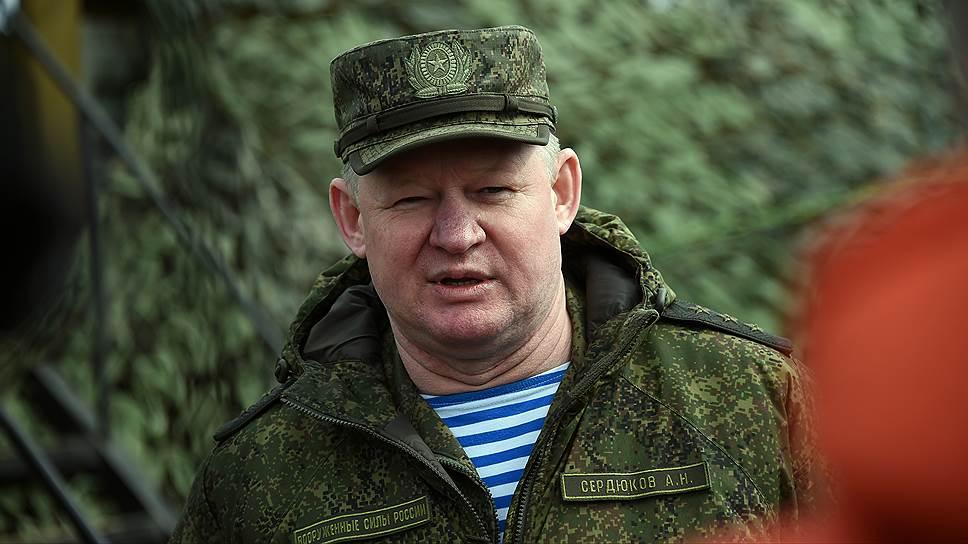 главного входа генерал лейтенант андрей сердюков фото хадид опубликовала своем