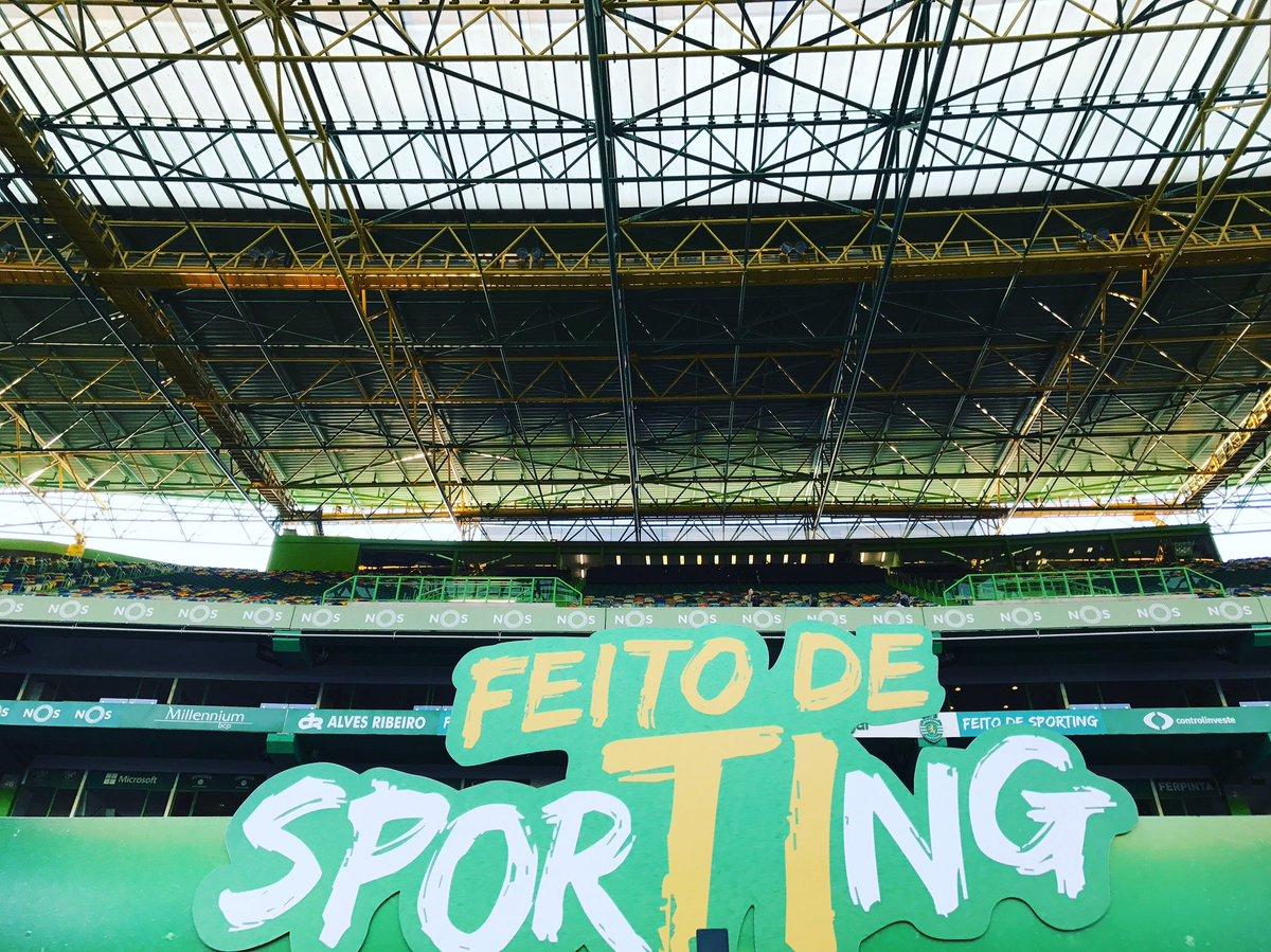 Preparados, Leões?  #DiaDeSporting #FeitodeSporting