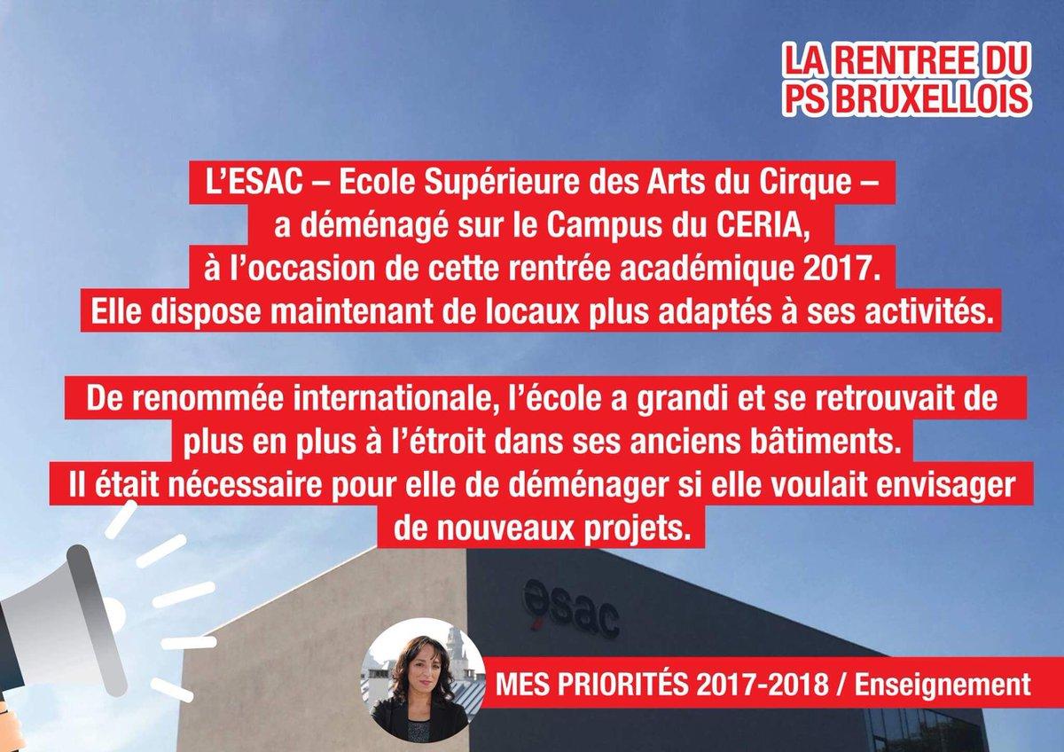 Les élèves y ont fait leur #rentrée ce lundi #campus #ceria #cocof #Enseignement #rentree2017 @psbruxellois