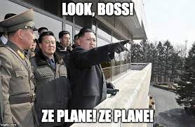 When you realize that no one was taking what you were dishing out #RocketMan #NorthKoreaNukes <br>http://pic.twitter.com/CoecwJ6e8p