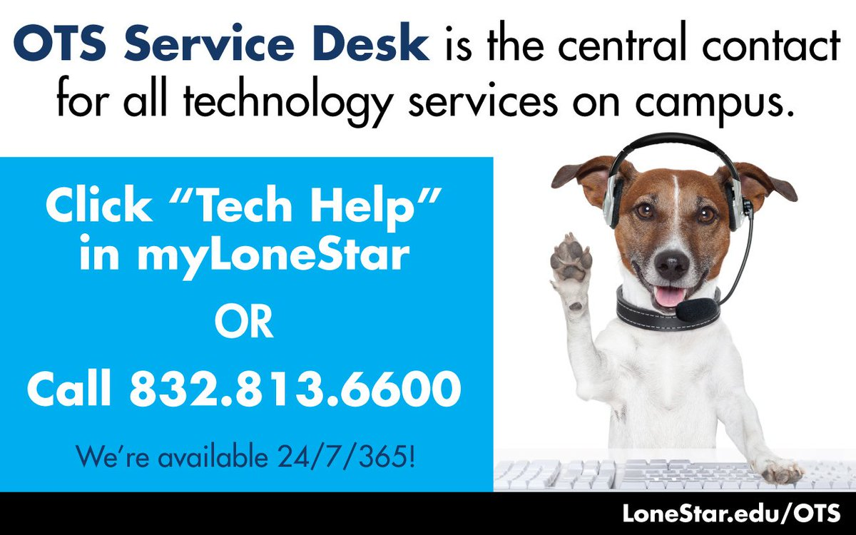 "lsc ots on twitter: ""need it assistance? click ""tech help"" in"