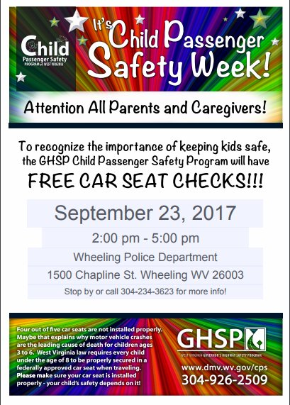 Wv Car Seat Laws >> Nrhsp On Twitter Join Us This Saturday For National Seat Check