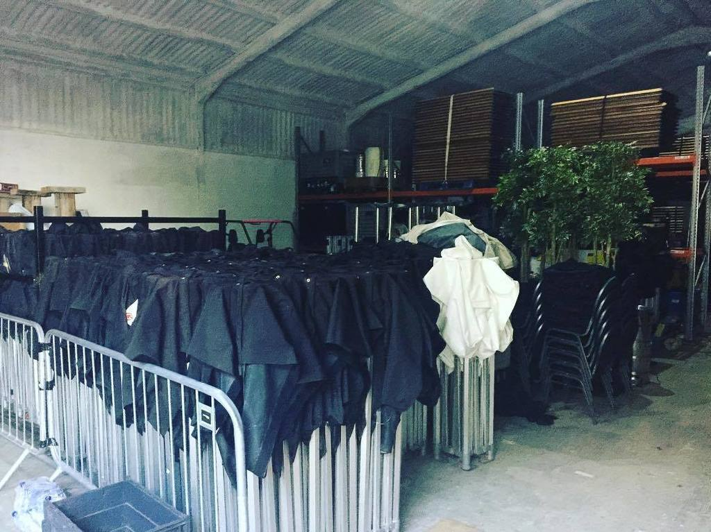 When #festivalseason slowly comes to an end, all the kit comes home.... &amp; you suddenly need a bigger warehouse! #f…  http:// ift.tt/2wuOXIi  &nbsp;  <br>http://pic.twitter.com/07Ft8axOJU