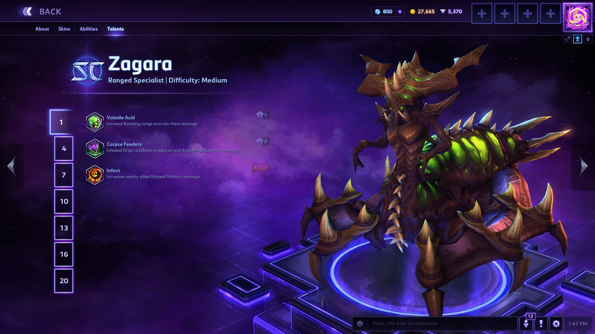 Blizzplanet On Twitter Updated Zagara Build Used In Hgc Na Eu Kr Winning Matches Blizzheroes Esports Https T Co Jlpbw2vjpn Zagara, broodmother of the swarm, is one the heroes that are consistently played in a professional build pros and cons. twitter