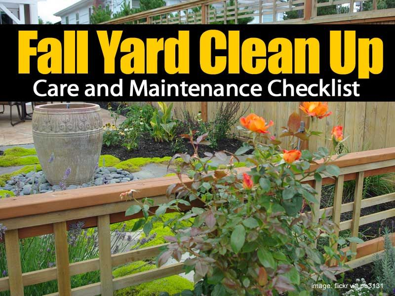 @AndreaOkopnyCK     Fall Yard Clean Up, Care and Maintenance Checklist!    https:// buff.ly/2wZSCgG  &nbsp;    #maintenance #realestate<br>http://pic.twitter.com/kRP5l3onU6