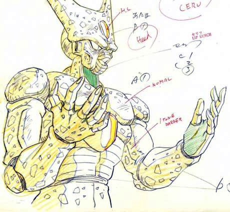 #DragonBallZ #Cell #Sketch before #Cel - Sold for $15 on 2010 - More on Facebook Page:  http:// on.fb.me/1F15KPC  &nbsp;  <br>http://pic.twitter.com/GQ5kKJVLGC