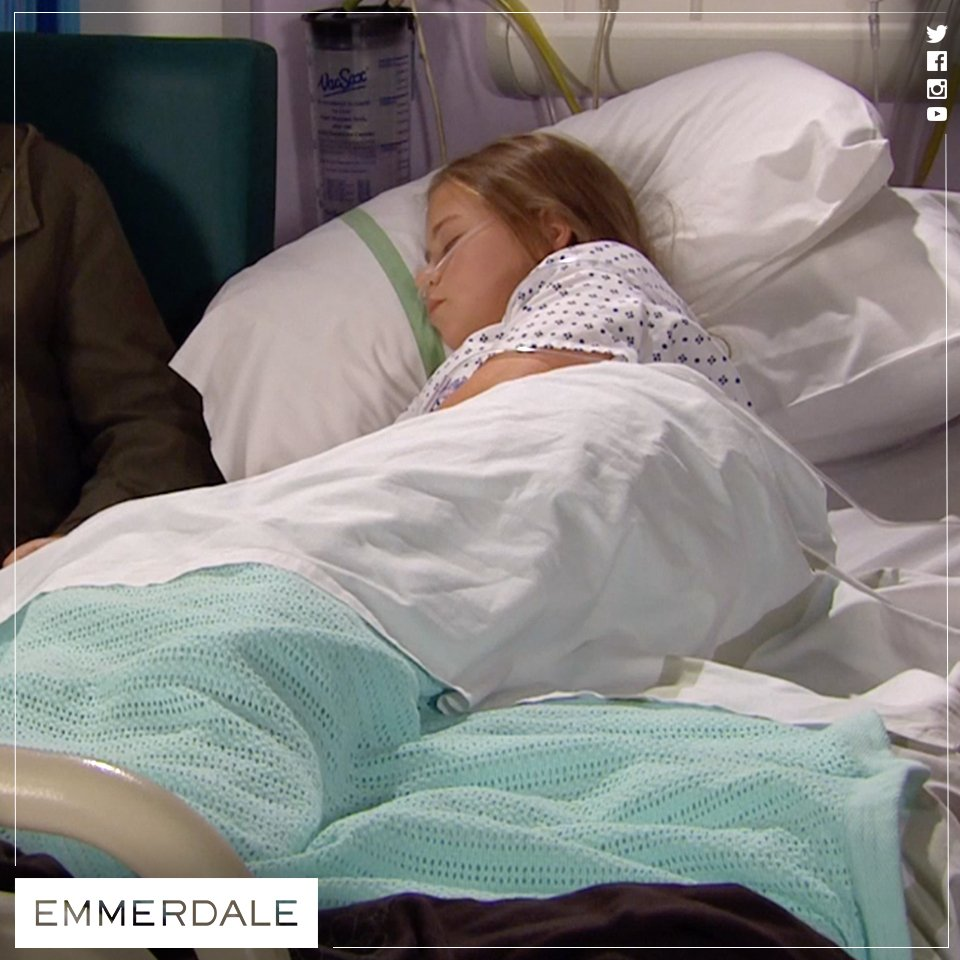 Oh Liv, this is killing us seeing you like this! #Emmerdale