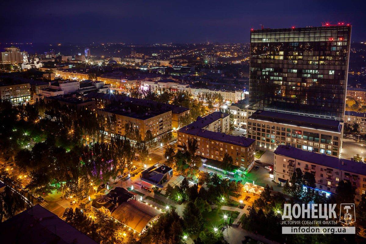 Фото ночные города пейзажи