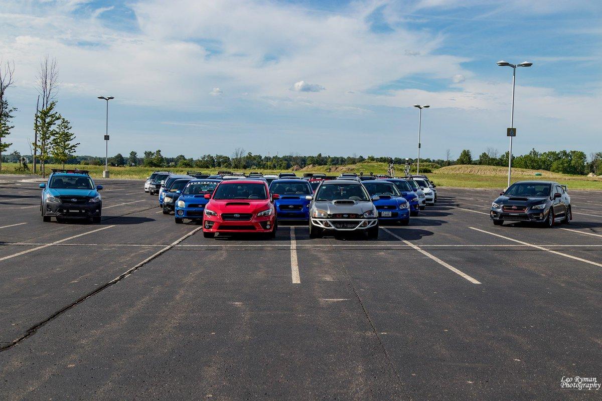 Whats better than a Subaru? Try 47 Subarus (photo courtesy: Leo Ryman)...