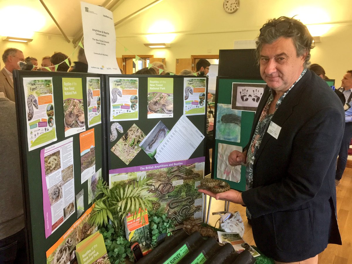 A great display from ARC at the @CPRE_Hampshire on their #NewForest Smooth #Snake Survey :) #Hampshire #reptiles @CPRE<br>http://pic.twitter.com/YMaAkzrmBN