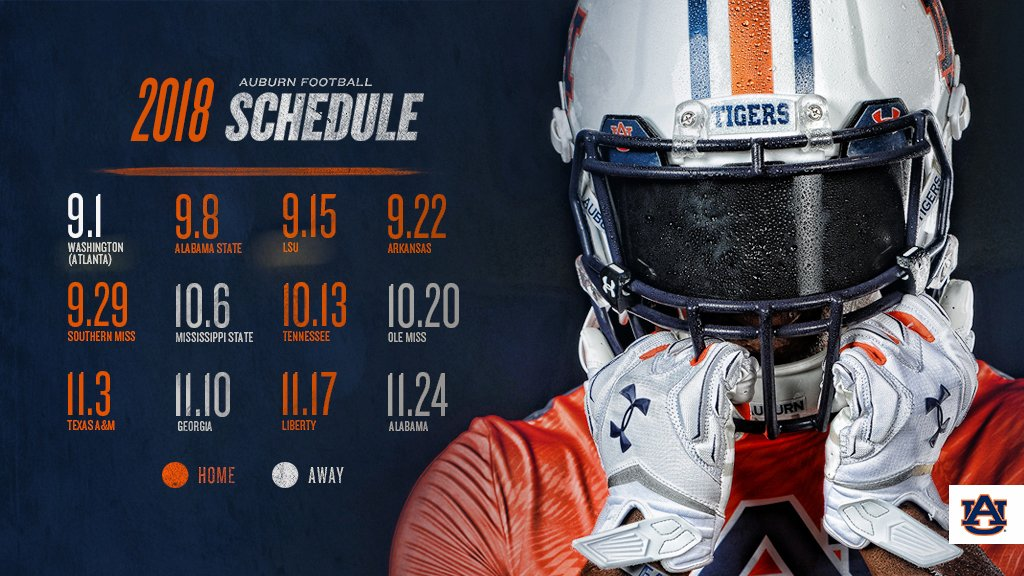 39fece5e70a Auburn Football on Twitter: