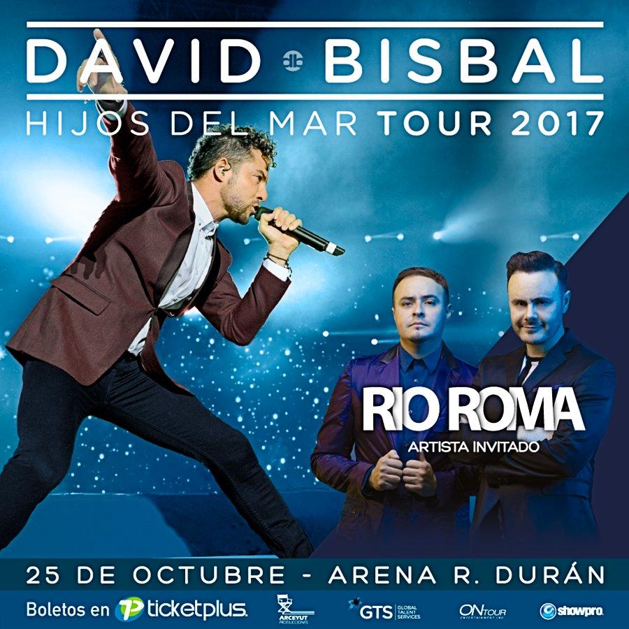 @RioRomamx estará presente este 25 de Octubre en la Arena R. Durán de...