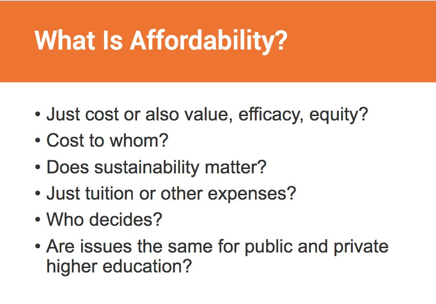 Examining these big questions around #highereducation affordability today #IHEaffordability<br>http://pic.twitter.com/VpFPANkFQ8