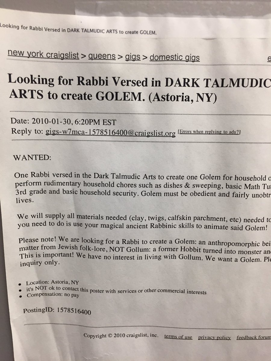 Queens craigslist gigs
