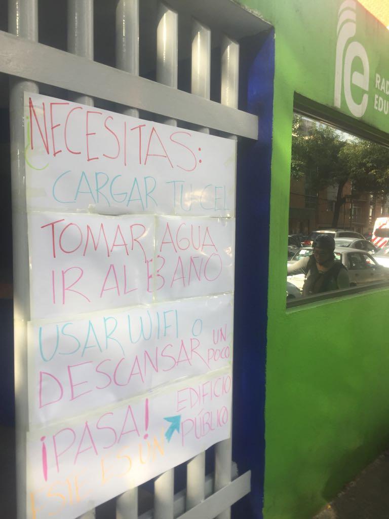 Pasa a Radio Educación. Toma un respiro, carga tu celular, usa WiFi. #AyudaCiudadana  #sismo https://t.co/md6hN2Coxi